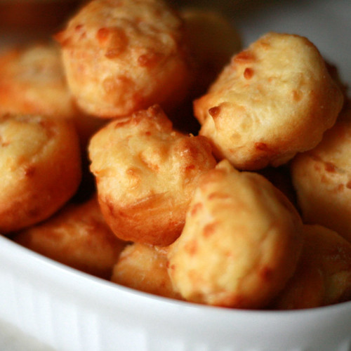 Gluten Free Cheese Puffs